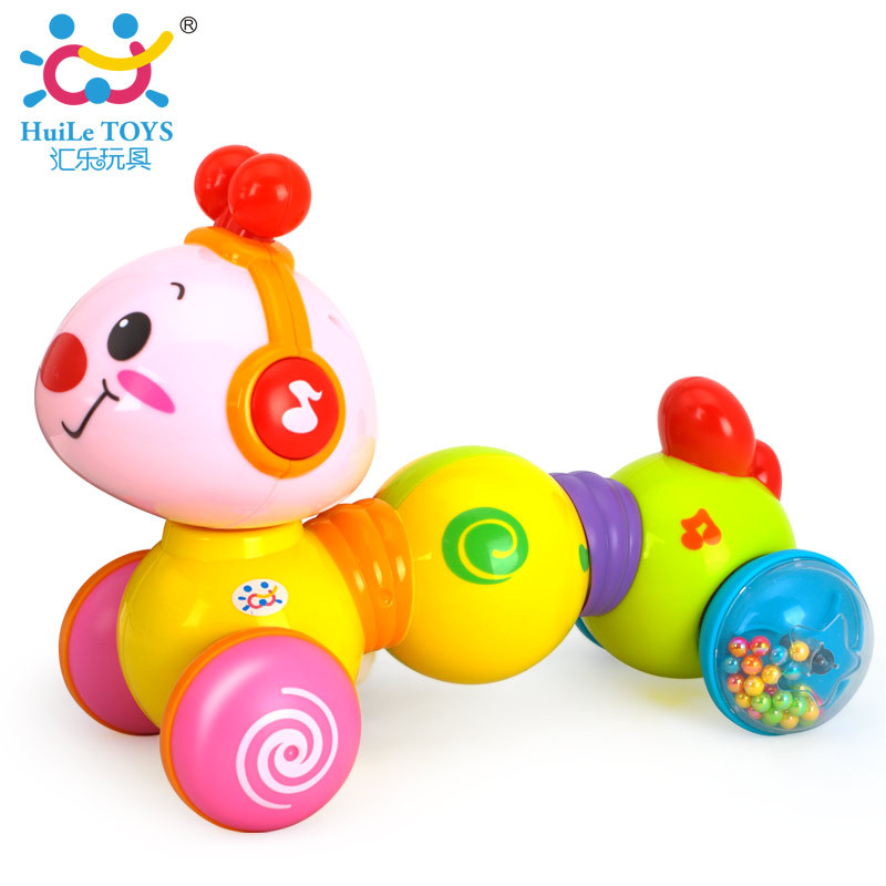 Department Of Music 997 Crawling XIAOCHONG Caterpillar Infants Step Parent And Child Interactive Press Educational Early Childh