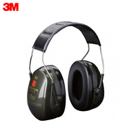 Noise Earmuffs 3M H520A 407 GQ Anti noise headphones with standard PELTOR Optime II headband Security Protection Workplace Safety Supplies Noise Equipment H520A 407 GQ