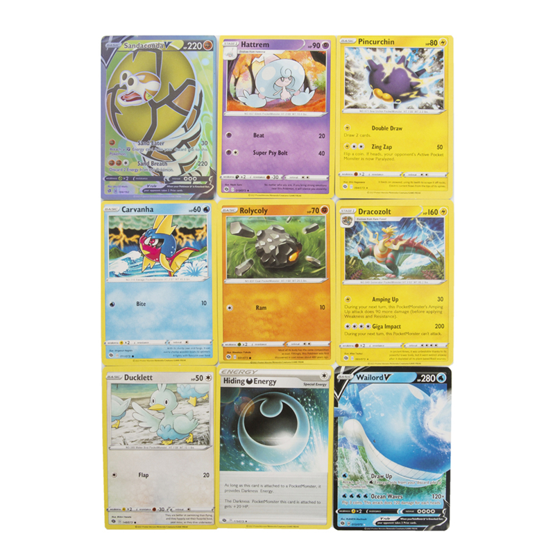 NEW 324Pcs Pokemon Go XY CHAMPION S PATH V MAX Booster Box Trading Cards Game ENERGY