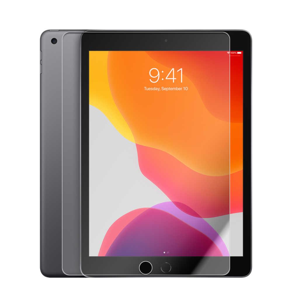 NABNAW زجاج مقسى لجهاز iPad 10.2 بوصة Mini 5 4 3 2 1 air 10.5 واقي للشاشة لجهاز iPad 9.7 iPad Pro 11 الجديد