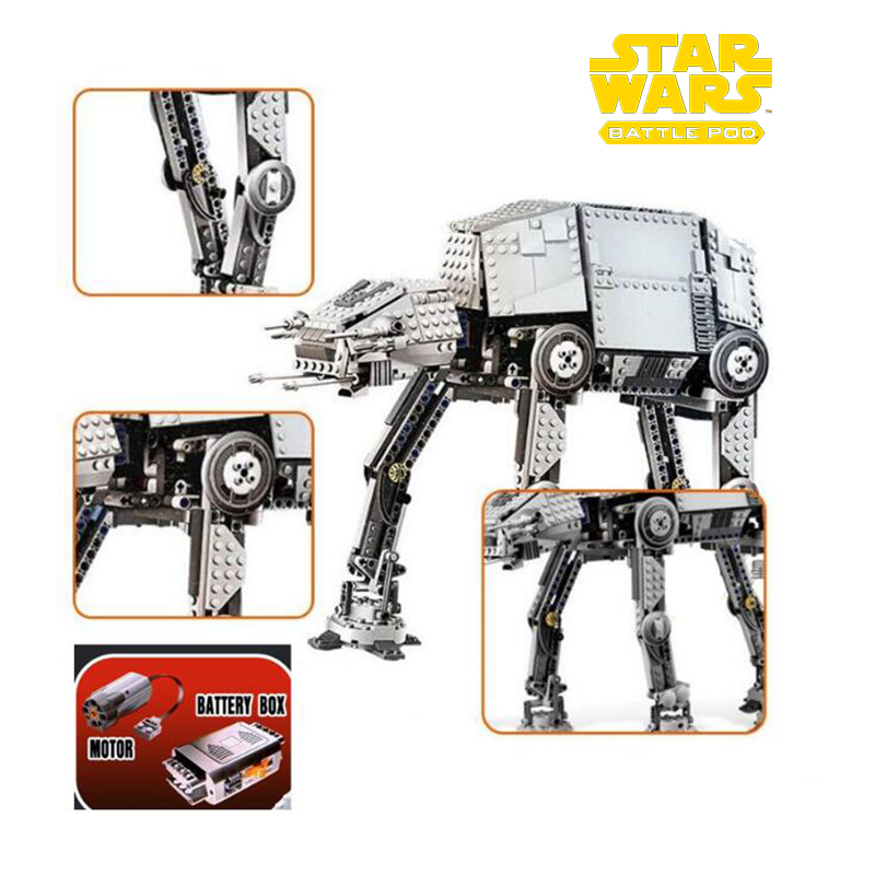 05050 1157pcs Star Wars Series Force Awaken The At-at Armored Model Building Kit Block Bricks Compatible With Legoinglys 75054