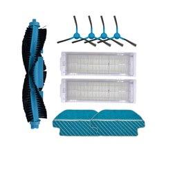 Filtro HEPA rodillo cepillo mopa almohadillas paño para Cecotec Conga 3490 repuestos de aspiradora robótica Kits de reemplazo de cepillo lateral