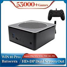 Super Console PC Box lecteur de jeu vidéo intégré 53000 + jeux émulateur de Console de jeu pour PS2/WII/WIIU/PSP/N64/PS1/SNES double système