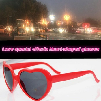 RETRO HEART LENSES REFRACTION GLASSES  1