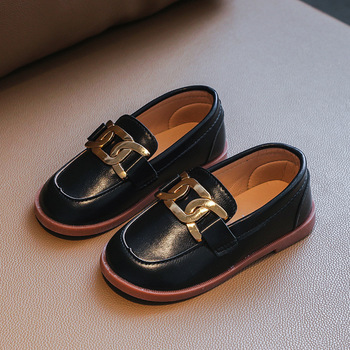 Babies' Metal-Chain Classic Shoes