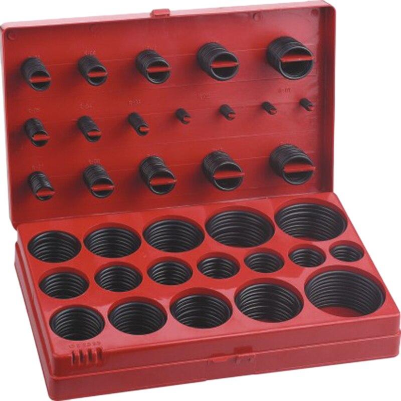 419Pcs Metric Rubber O-Ring Washer Assortment Kit Automotive Storage Case ORing Set