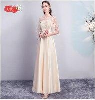 Burgundy Bridesmaid Dress Elegant Plus Size Guest Wedding Party Dress Satin A Line V neck Black Dress for Dinner Prom Champagne