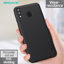 Nillkin Case For Samsung Galaxy M20 Frosted Shield Hard Anti-fingerprint shockproof Back Cover For Samsung Galaxy M20 Phone Case for samsung galaxy note8 fitted shockproof back cover anti skid anti fingerprint silicone soft black tpu phone case