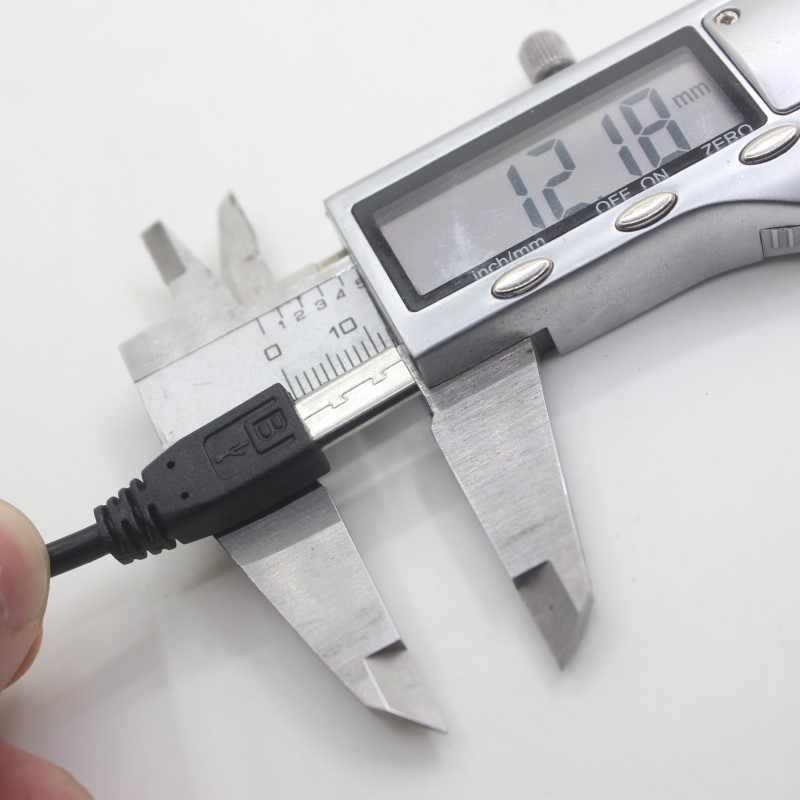Cable Micro USB Extra largo de 12mm, conector extendido para Blackview BV6100 A60 BV4000 / BV5800 Pro BV6000 BV6000s, teléfono robusto