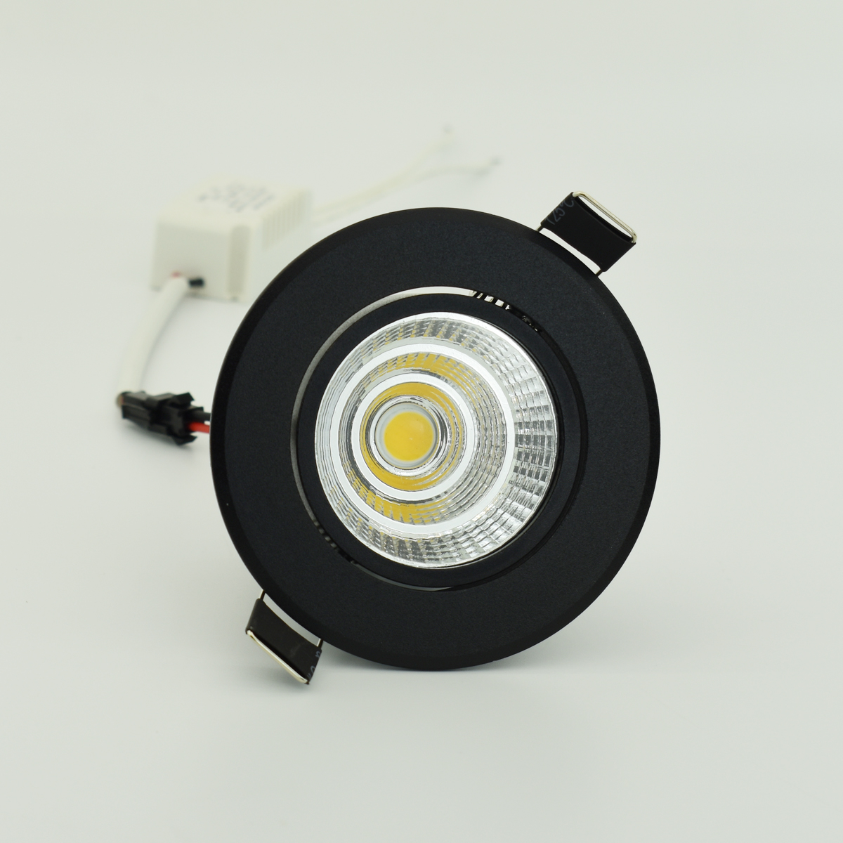 Special Black Led Spot Mini 3W 5W 7W COB LED Downlight Dimmable Recessed Lamp Light Best For Ceiling Home Office Hotel 110V 220V