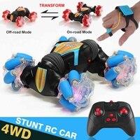 Neue High-speed 360 Rotation Fernbedienung Auto 4WD Geste Induktion Control Stunt Auto Verdrehen Off-road Fahrzeug drift Spielzeug