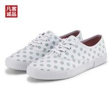 2020 New Vancl Women's Low Canvas Shoes Shades Frenulum Fash