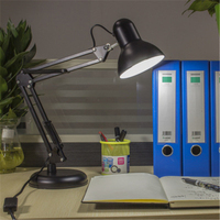 American Desk Lamp E27 Bulb Bulb LED Desk Lamp Bedroom Desk Light Work Clip Light Free Shipping
