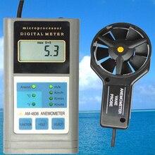 LANDTEK AM-4836 Digital Anemometer ,Handheld Wind Speed Meter Air Flow Meter Accuracy: +/-2%n+2d. anemometer air flow speed temperature meter am4836v am 4836v page 5