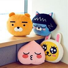35cm  APEACH RYAN MUZI TUBE plush doll pillow lovel anime stuffed Cushion doll sofa pillow gift for girlfriend festival present ботинки nando muzi nando muzi na008awbxoc1