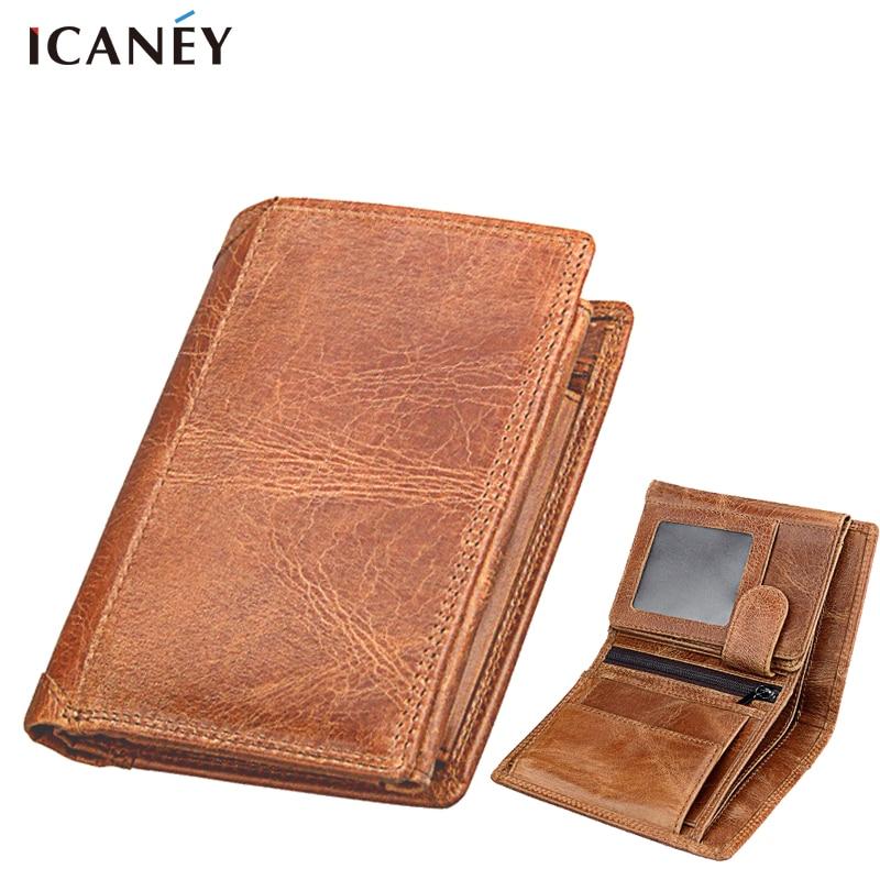 Men Wallets Genuine Leather Coin Procket Wallet Leather Men Coin Purse Leather Wallet Men Soft Genuine Leather Wallet Men