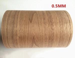 Image 1 - מותאם אישית טבעי אמיתי שחור אגוז עץ פורניר עבור ריהוט סטריאו 0.2mm כדי 0.5mm C/C