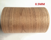 Custom Natural Genuine Black Walnut Wood Veneer for Furniture Stereo 0.2mm to 0.5mm C/C