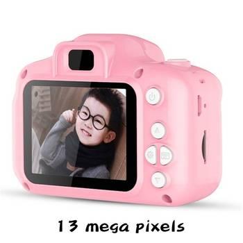 1080P HD Child camera HD digital camera 2 inch cute cartoon Camera toys children birthday gift child toys Camera 7
