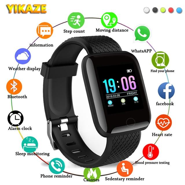 D13 Smart Watch Women Men Kids Heart Rate Blood Pressure Monitor 116Plus Waterproof Sport Smartwatch Watch Clock For Android IOS 1