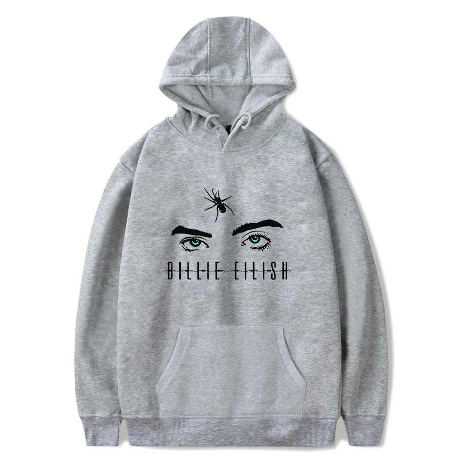 Out wear women fashion hip hop hoodies Billie Eilish hoodie sweatshirt women casual hoodies long sleeve hoody pullovers coat