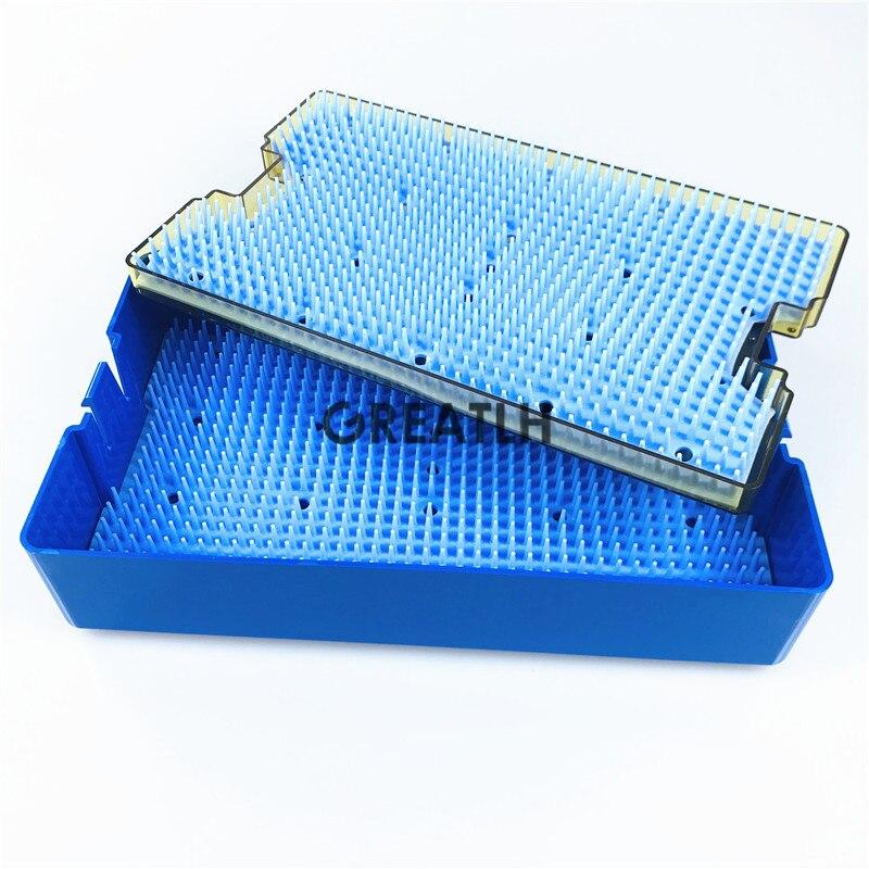 Image 5 - Silicone caso di disinfezione Sterilizzare scatola vassoio di  sterilizzazione sterilising tappetino in silicone per strumento  chirurgico tenere-in Kit da toilette da Bellezza e salute su