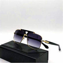 KAPELUS Metal square sunglasses European new men and women