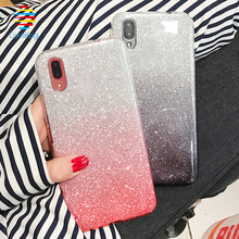 Glitter Soft Cases for Sony Xperia X XA XA1 Ultra XA2 Plus XZ XZS XZ1 Compact XZ2 Premium XZ3 Silicone XA 2 1 10 Bling TPU Cover(China)