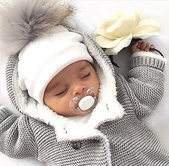 Kids Cotton Hats Baby Pom Pom Photo Props Newborn Children's Boy Accessories Toddler Girl Cap Bonnet  Baby Hats
