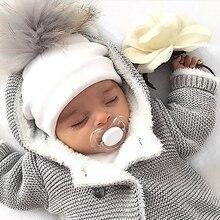 kids cotton hats baby pom pom photo props newborn children's kids hat