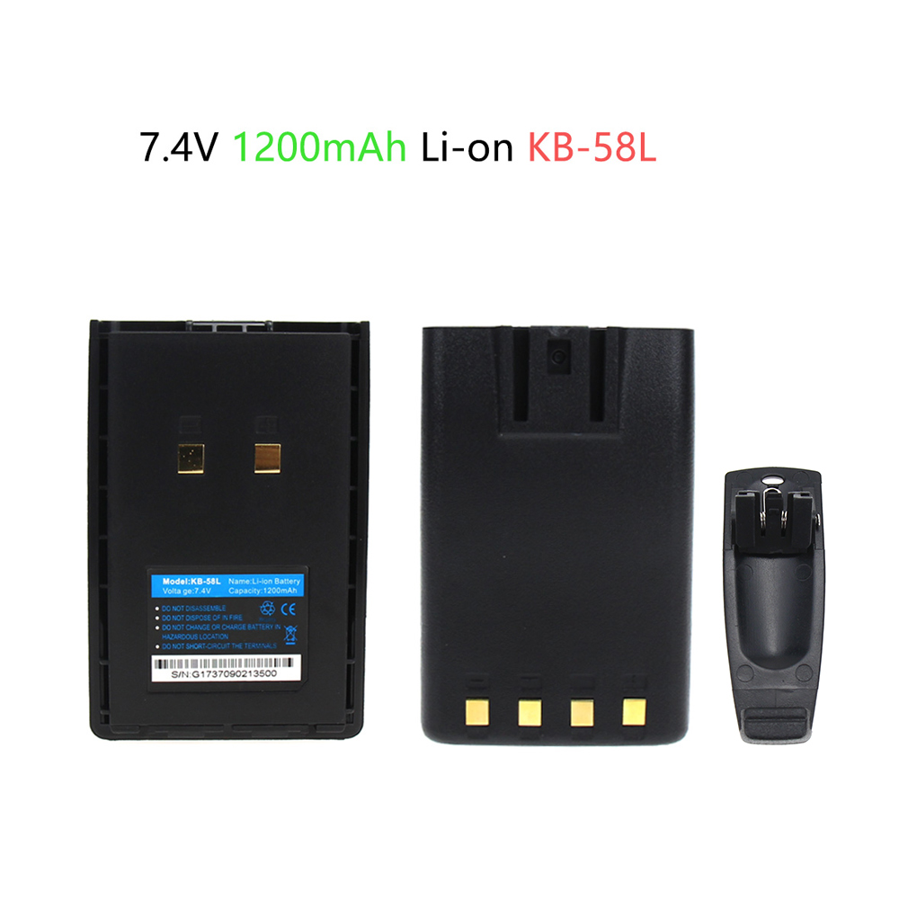 1200mAh Replacement Battery For Kirisun PT4200 PT5200 PT558 PT668 PT558S PT-558 PT-558S PT-4200