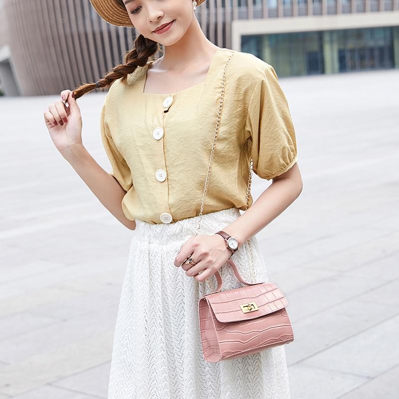 PU modne ženske torbice poletne nove krokodil vzorčne torbice - Torbice - Fotografija 4