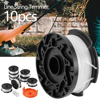 line string trimmer replacement spool 30ft 0 065inch replacement spool for black decker Mower Parts Replacement Line String Automatic Feed Line Trimmer Replaces Spools for Most Black and Decker String Trimmer Models