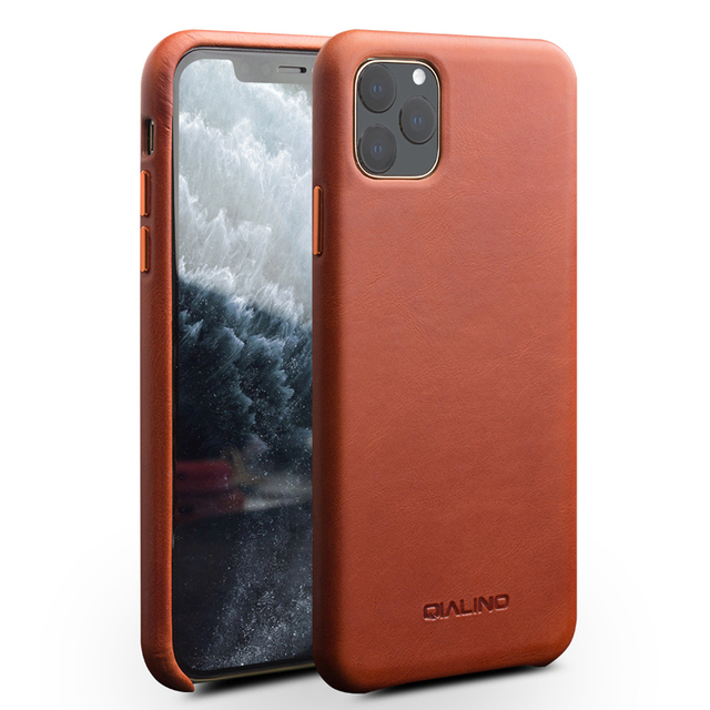 ل iPhone11 مكتب حقيبة ظهر جلدية حقيقية آيفون X XR الرجعية جلد البقر والجلود جراب هاتف الغطاء الخلفي ضئيلة آيفون 11 برو ماكس