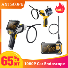 Antscope 4.3 inch Industrial Endoscope 1080P Inspection Camera for Auto Repair Tool Snake Hard Handheld Wifi Endoscope Android35 3 9 mm od handheld flexible snake endoscope inspection camera with 3m 1m cable endoscope 4x zoom snake industrial endoscope