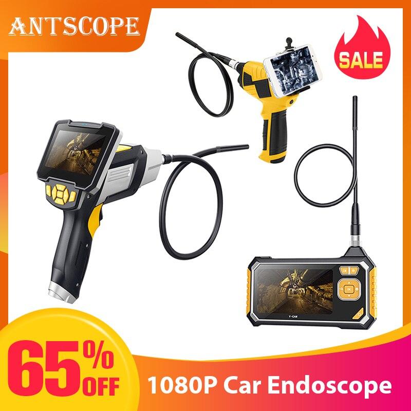 Antscope 4.3 polegada Industrial Endoscópio Câmera de Inspeção 1080P para a Reparação de Automóveis Ferramenta Cobra Handheld Wifi Endoscópio Rígido Android35