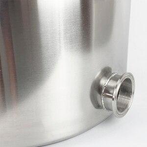 Image 4 - 25L Pentola, Caldaia, Carro Armato, Fermentatore con Coperchio Campana di Distillazione, Rettifica, Sanitari Acciaio Inox 304