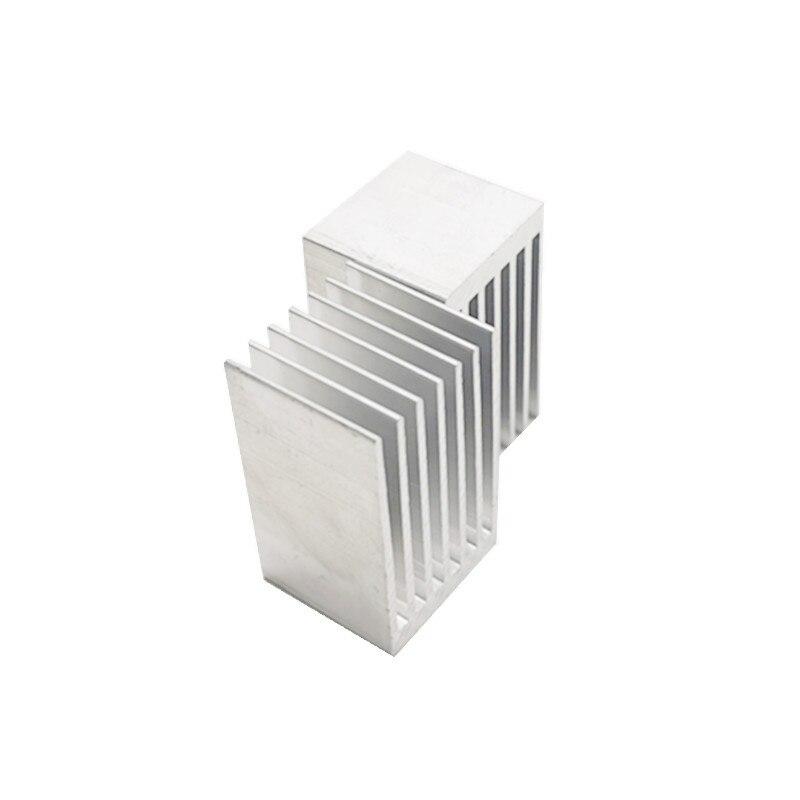 Алюминиевый профиль для охлаждения, радиатор 20*20,5*35 мм, материнская плата, чип, печатная плата, радиатор радиаторный блок IC|Кулеры/вентиляторы/системы охлаждения|   | АлиЭкспресс