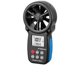 Wind-Speed-Meter Altitude Measuring-Testing Digital Display 866B-WM Battery-Powered Practical