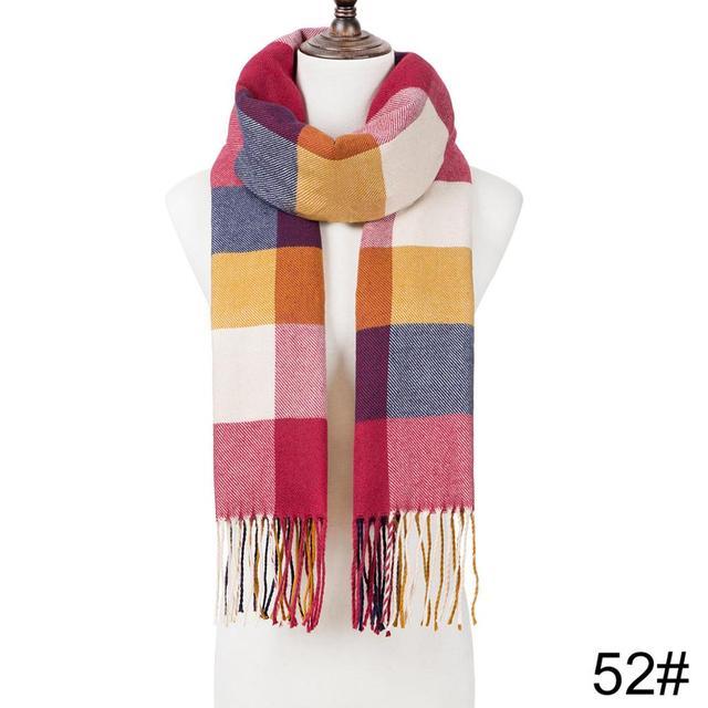 Fashion Winter Tassel Scarf Shawl 2