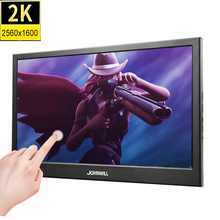 10.1 inch 2K Touch Screen ips Portable Gaming monitor pc LED