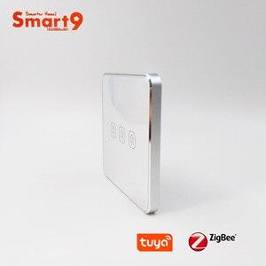 Image 1 - Smart9 ZigBee Battery Switch, Working with TuYa ZigBee Hub, Touch Switch Sticker Smart Life App Control, Powered by TuYa