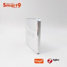 Smart9 زيجبي مفتاح بطارية ، والعمل مع تويا زيجبي هاب ، ملصق تحويل اللمس الذكية الحياة App التحكم ، مدعوم من تويا