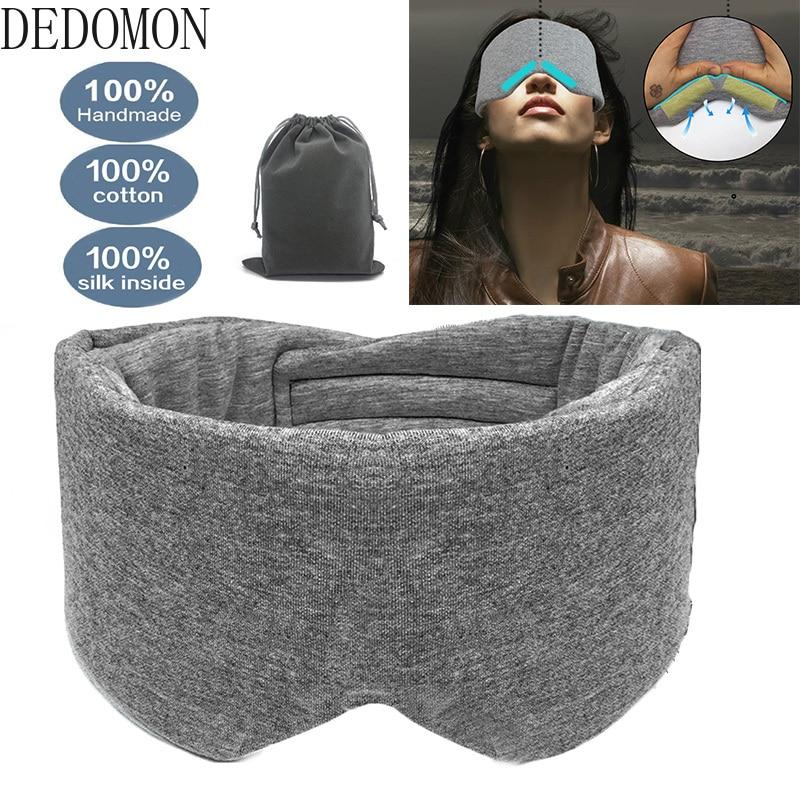 Masque de sommeil plus confortable sans toucher les yeux