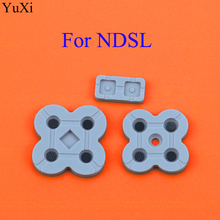 YuXi conducting button rubber silicone dpad pad RL LR L R left right keypad for NDSL/DSL/Nintendo DS Lite game repair стоимость