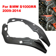 Protector-Covers Frame Carbon-Fiber S1000 for BMW Side-Panels Weaves 2PCS RR