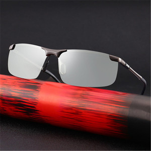 Image 2 - Soodacho Sonnenbrille Mann 2021 Neue Brillen Photochrome Auto Fahrer Brille Sonnenbrille UV Schutz Gläser Brillen