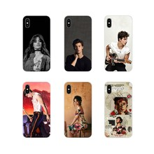 Silikon Telepon Shell Kasus Shawn Mendes Camila Cabello untuk Apple iPhone X XR XS 11Pro Max S 5 4S 5 5C Se 6S 7 7 Plus IPod Touch 5 6(China)