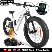Snow-Bike Motor-Kit Mid-Drive Tire-Fat Bicycle-12.8ah Electric 1000W New 48V BBSHD Ce