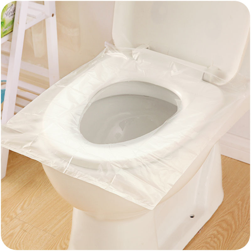 6pcs Portable Disposable Toilet Pats Travel Accesssories Seat Cover Trip Essentials Commode Cushion Waterproof Toilet Paper Pad